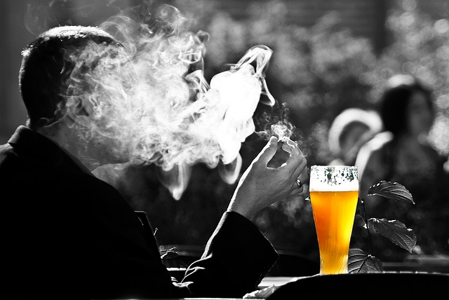 Symptômes du stress addiction tabac alcool
