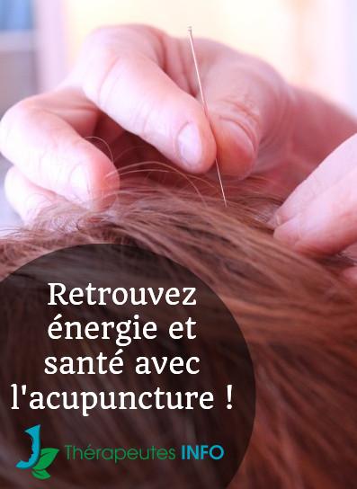 acupuncture thérapeute