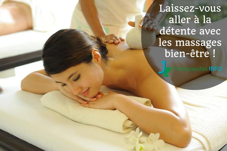 massages bien-être thérapeutes info