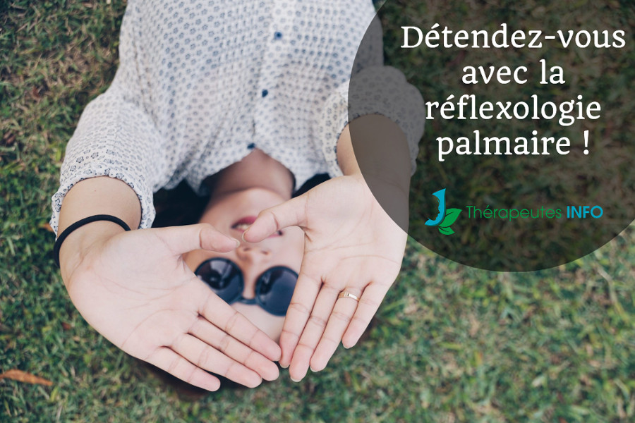 réflexologie palmaire détente
